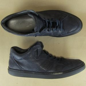 Tod's US 8 Men Fashion Sneaker Italy High Top Blue